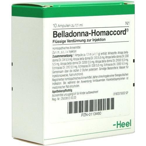 Белладонна Гомаккорд Хель
