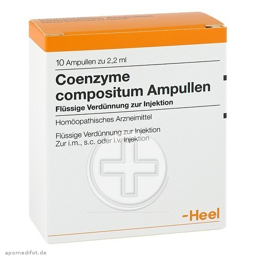 Coenzyme Compositum Ampullen инструкция - фото 2