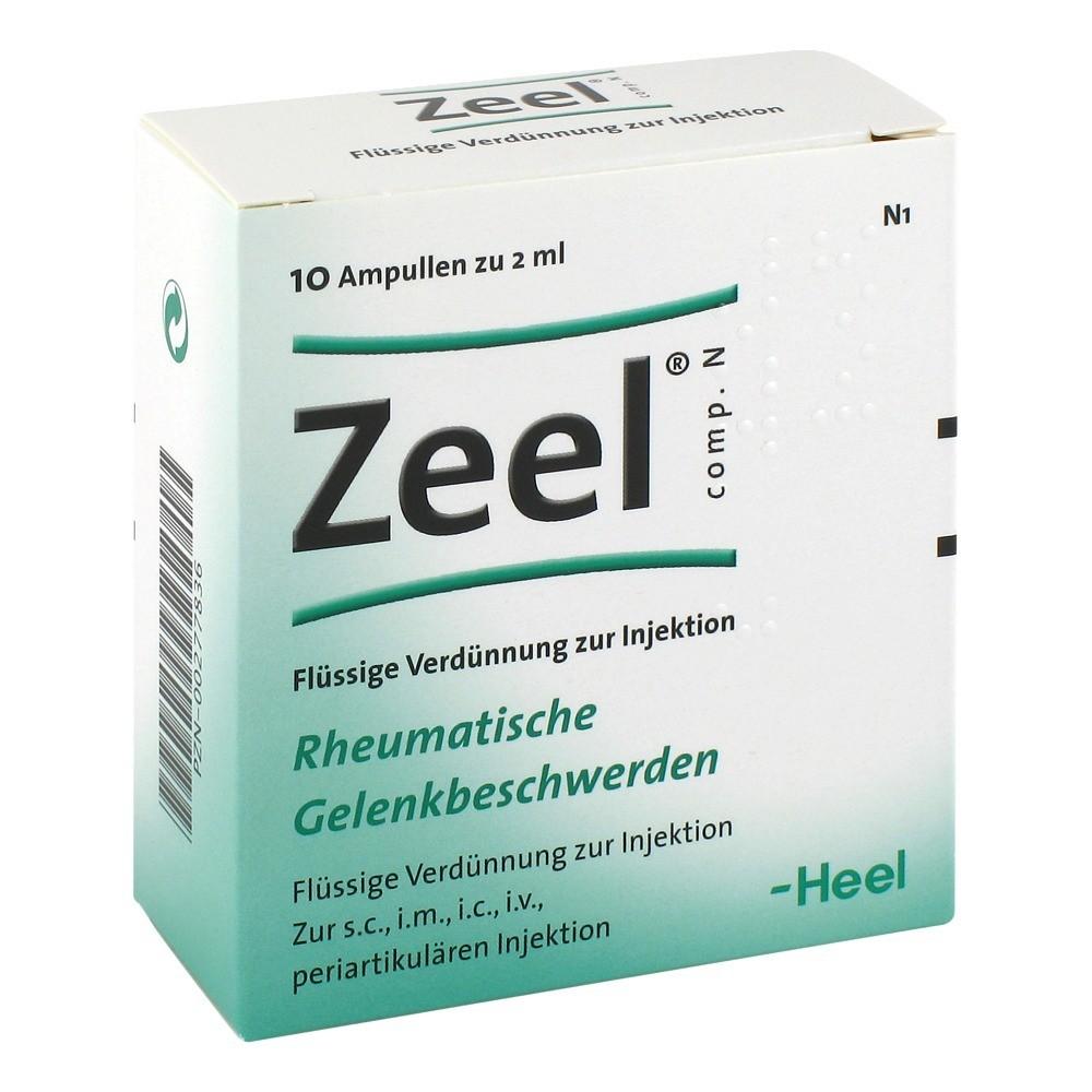 Zeel T таблетки инструкция - фото 4